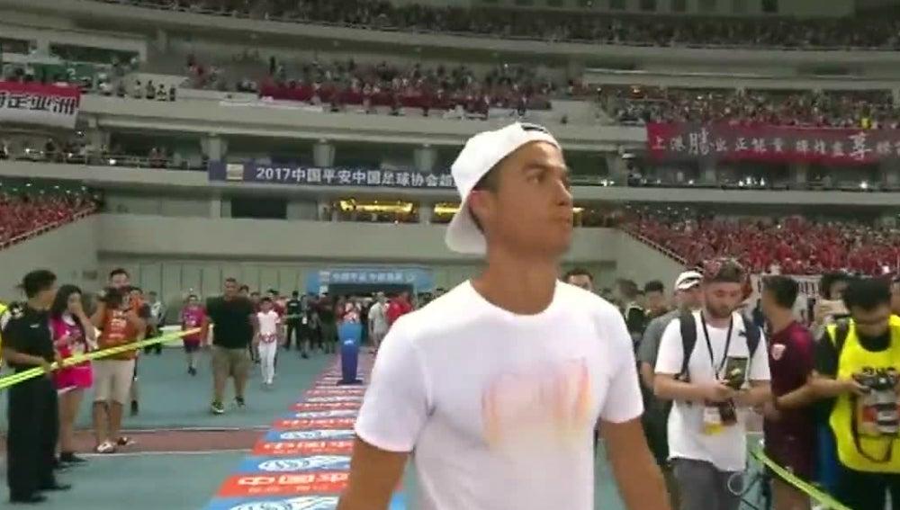 Cristiano, en China