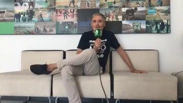 """Mikel Iturriaga estrena el miércoles El Comidista TV: """"A veces soy un poco acelga amarga pero en el fondo soy un pastelito"""""""