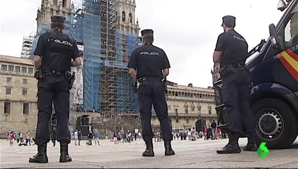 Santiago de Compostela garantiza la seguridad en las fiestas del apóstol