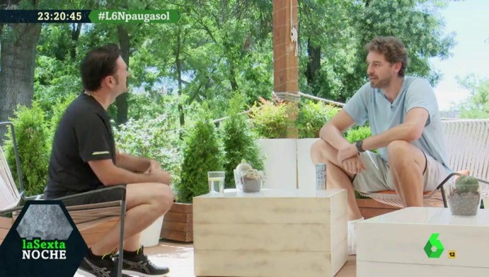 Pau Gasol e Iñaki López