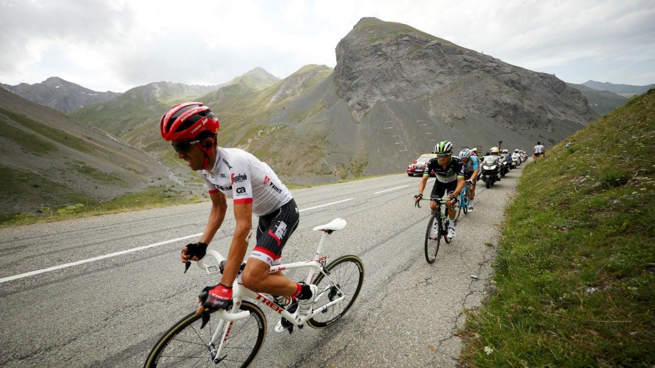Alberto Contador, en el Tour