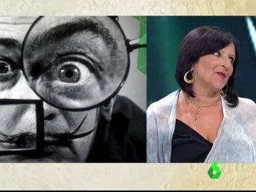 Pilar Abel durante su intervención en laSexta Noche