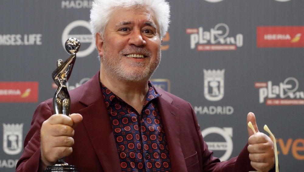 Pedro Almodóvar, Premio Platino a la Mejor Dirección por 'Julieta'