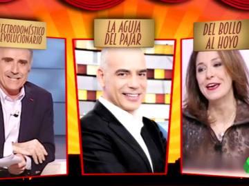 Aspirantes al mejor 'comorl' en los Premios Zapeando 2017