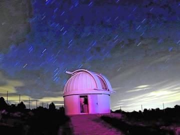 Imagen del observatorio de Aras de los Olmos, Valencia