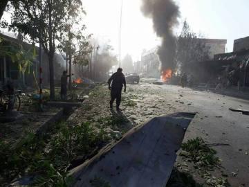 Atentado en el oeste de Kabul, en Afganistán