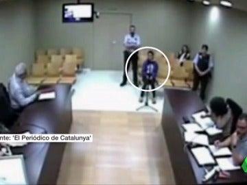 La agente de la Guardia Urbana declarando en el juicio