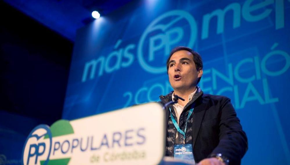 El entonces presidente del PP de Córdoba, José Antonio Nieto