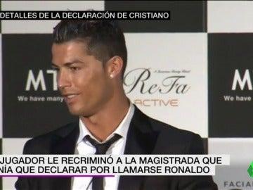 La jueza citará a declarar a los asesores fiscales de Cristiano Ronaldo.