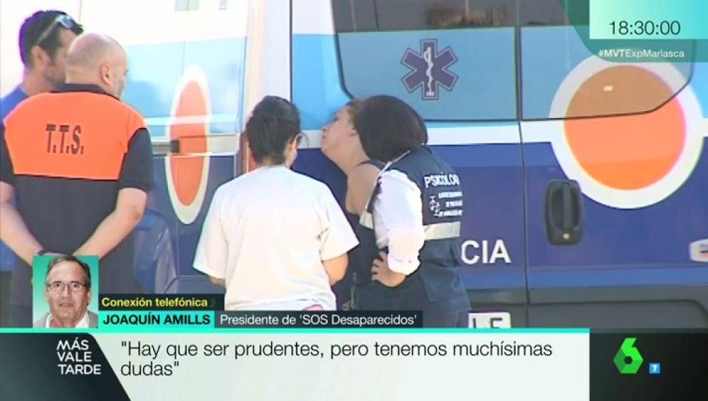 El presidente de 'SOS Desaparecidos' Joaquín Amills