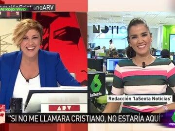 Cristina Pardo y Beatriz Zamorano