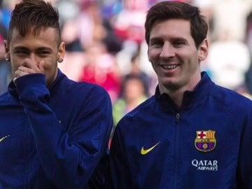 """Messi se despide de Neymar con este emotivo vídeo: """"Fue un placer, amigo"""""""