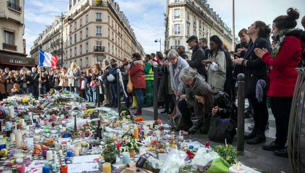 Aniversario de los atentados de París