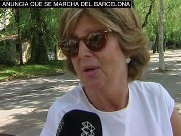 La afición del Barça, indignada