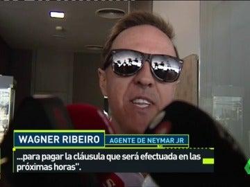 """El agente de Neymar confirma que el jugador se va: """"Vamos a pagar la cláusula"""""""