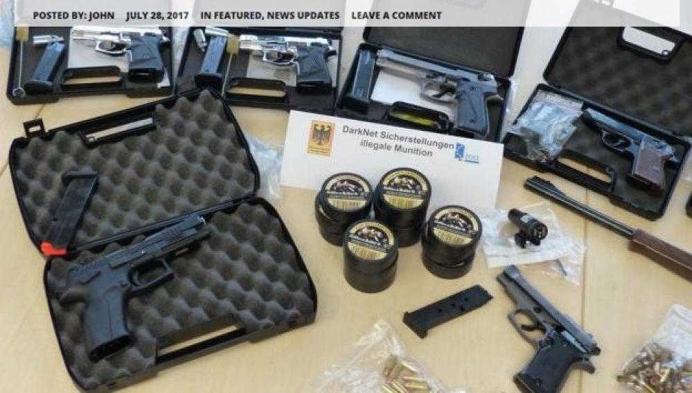 Armas ilegales