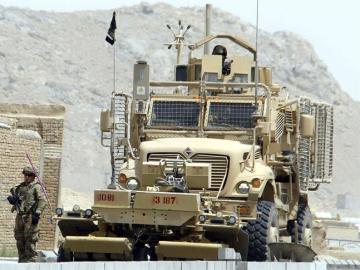 Convoy de la OTAN en Afganistán