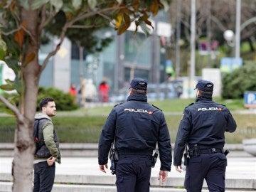La Policía se desplaza al lugar de los hechos