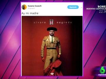 """Álvaro Negredo revoluciona las redes (y Zapeando) con su """"negredón"""": """"¡Le han puesto su cabeza al cuerpo de Nacho Vidal!"""""""