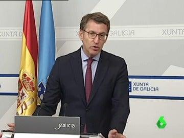 Núñez Feijóo, presidente de la Xunta