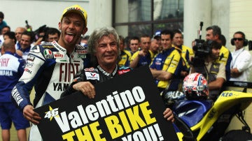 Rossi, junto a Ángel Nieto