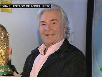 """Ángel Nieto empeora """"gravemente"""" su estado de salud y continúa en la UCI"""