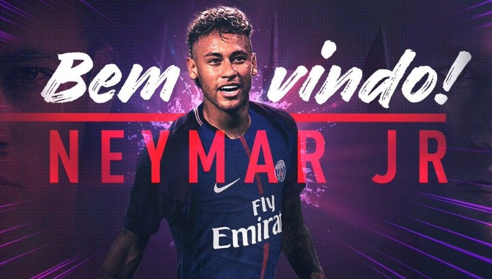 Neymar, nuevo jugador del PSG