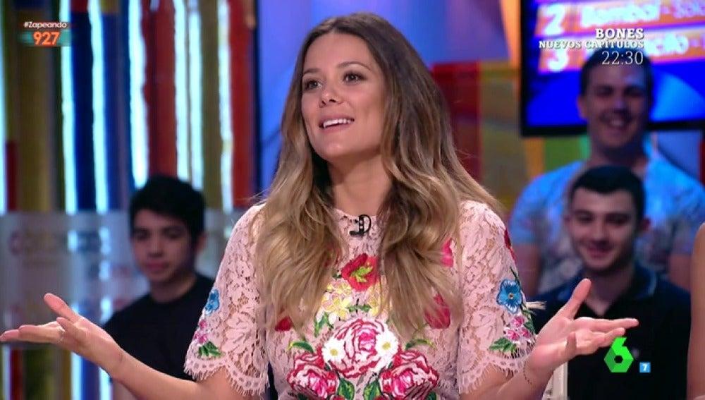 Lorena Gómez en  Zapeando