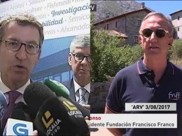 Alberto Núñez Feijóo responde a la Fundación Franco
