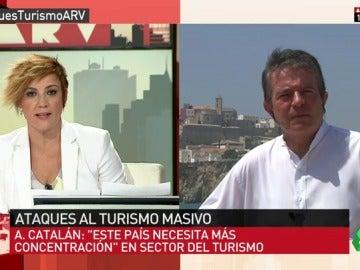 """Antonio Catalán: """"Si en España queremos un perfil de turismo low cost estamos en el camino"""""""