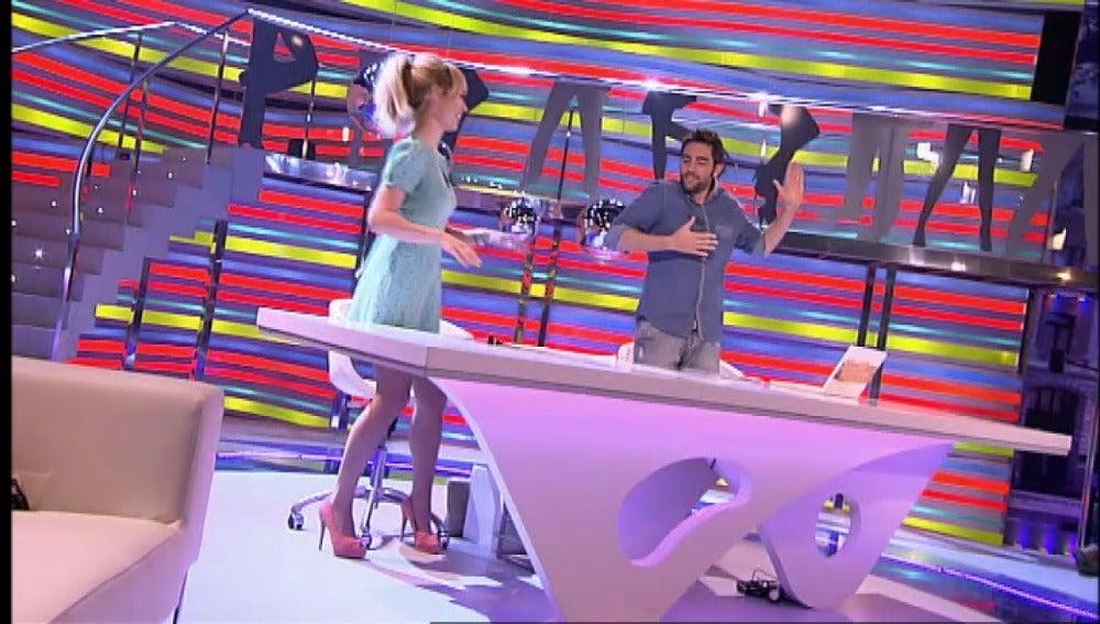 Patricia Conde y Dani Mateo bailando en Sé lo que hicisteis