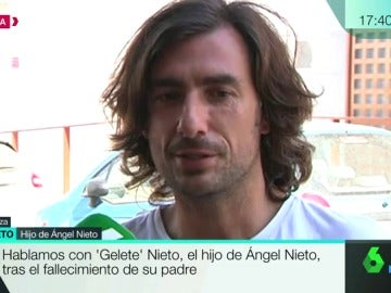 'Gelete' Nieto, el hijo de Ángel Nieto