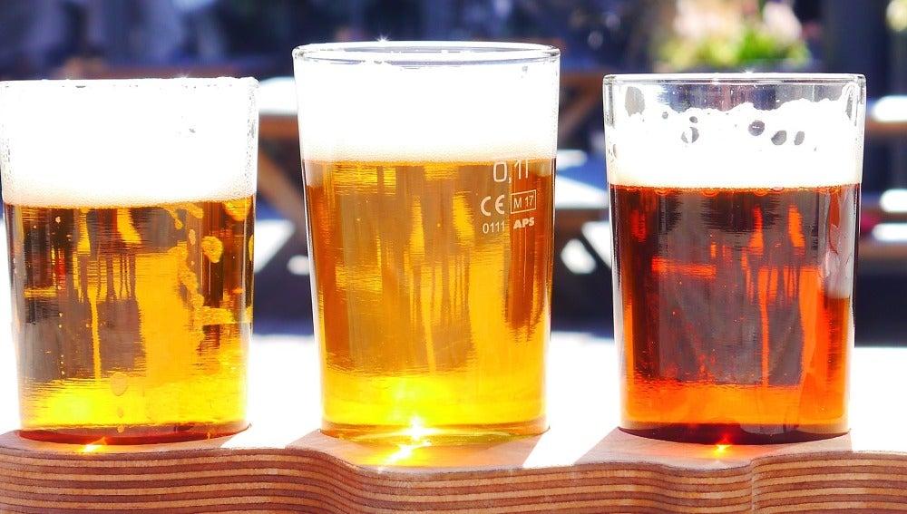 Cervezas, imagen de archivo