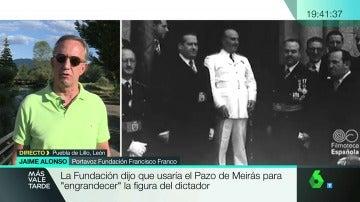 Jaime Alonso, portavoz Fundación Francisco Franco