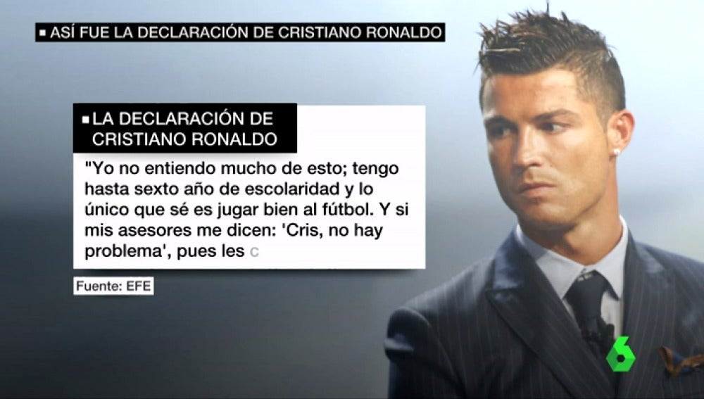 El dolo en el proceso penal contra Cristiano Ronaldo