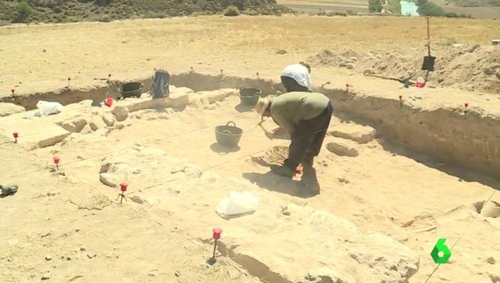 Yacimiento romano en Driebes, Guadalajara