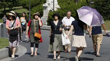 Altas temperaturas en España