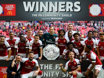 El Arsenal campeón de la Community Shield