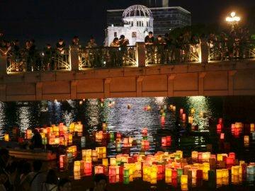 Homenaje a los 140.000 muertos por la tragedia de Hiroshima