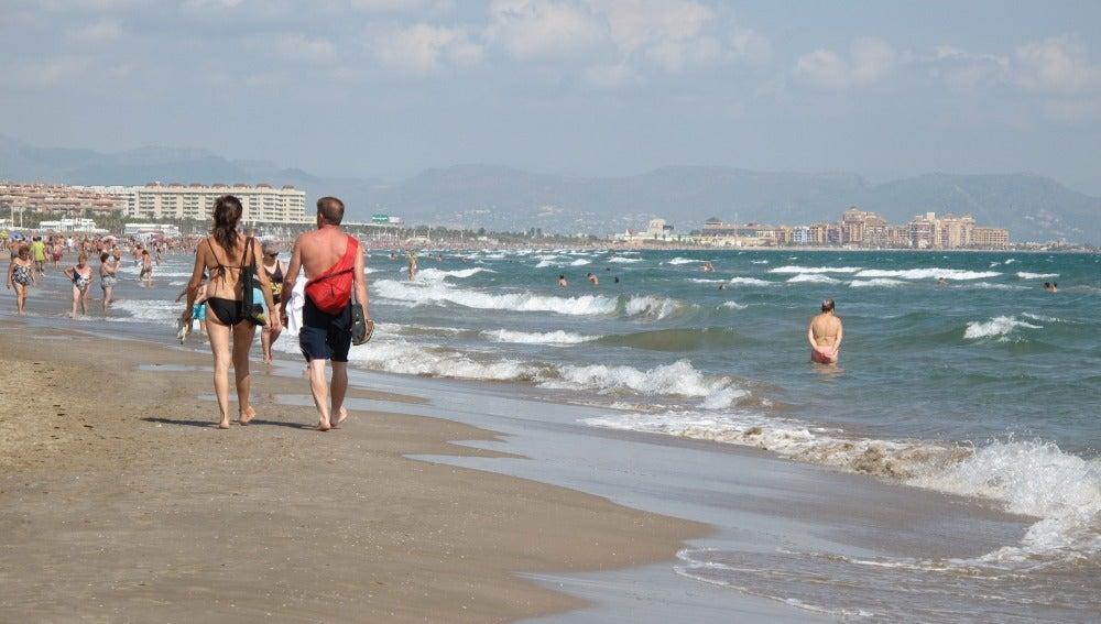Playa valenciana, imagen de archivo