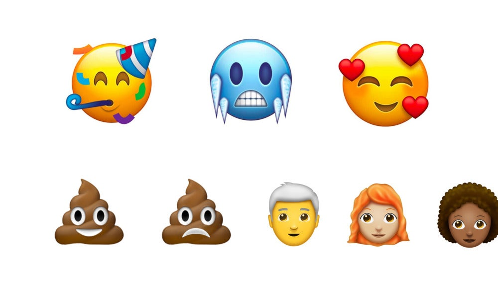 Nuevos emojis para 2018