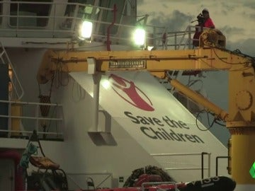 El buque 'Vos Hestia' de Save the Children