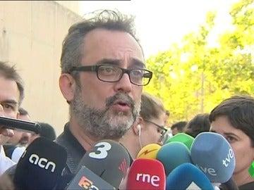 Juan Carlos Giménez, asesor del comité de huelga