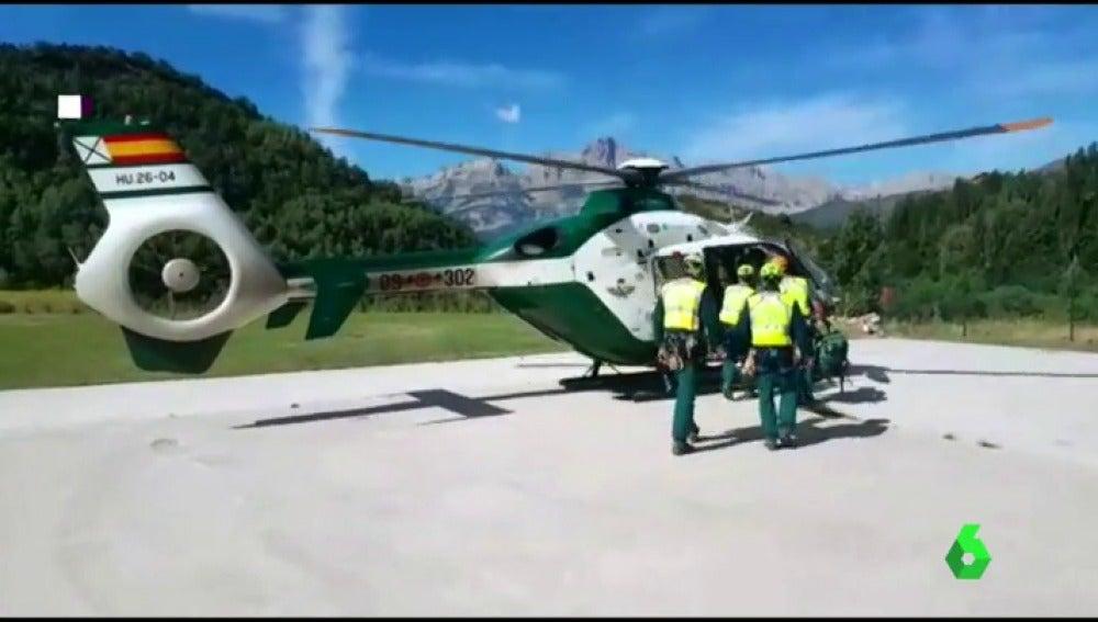 La Guardia Civil busca a un montañero desaparecido en el pirineo aragonés
