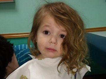 La pequeña de cuatro años desaparecida