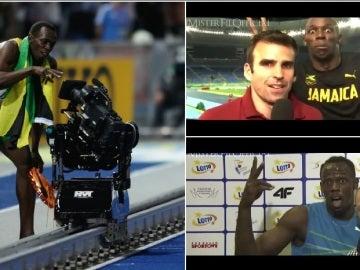 Usain Bolt, espectáculo dentro y fuera de la cancha