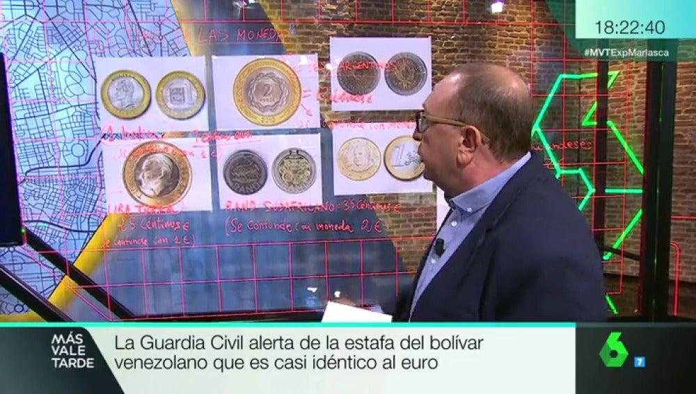 La Guardia Civil alerta de la estafa del Bolívar venezolano, casi idéntico al euro