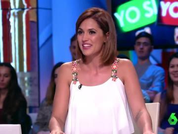 Michelle Calvó, en Zapeando
