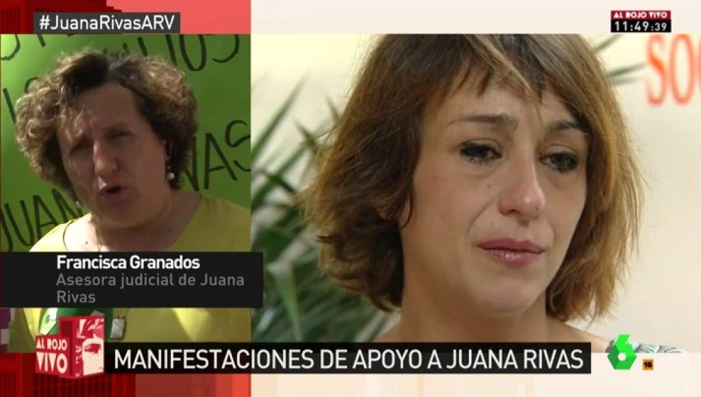 Francisca Granados, abogada de Juana Rivas