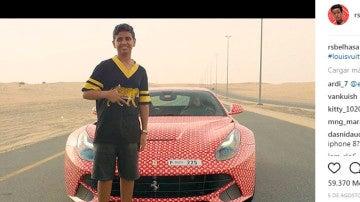 Un Ferrari F12 como regalo de cumpleaños